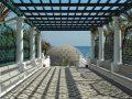 Thermes de Kalithéa à Rhodes - Pergola